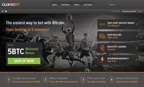 CloudBet Crypto Sports Betting
